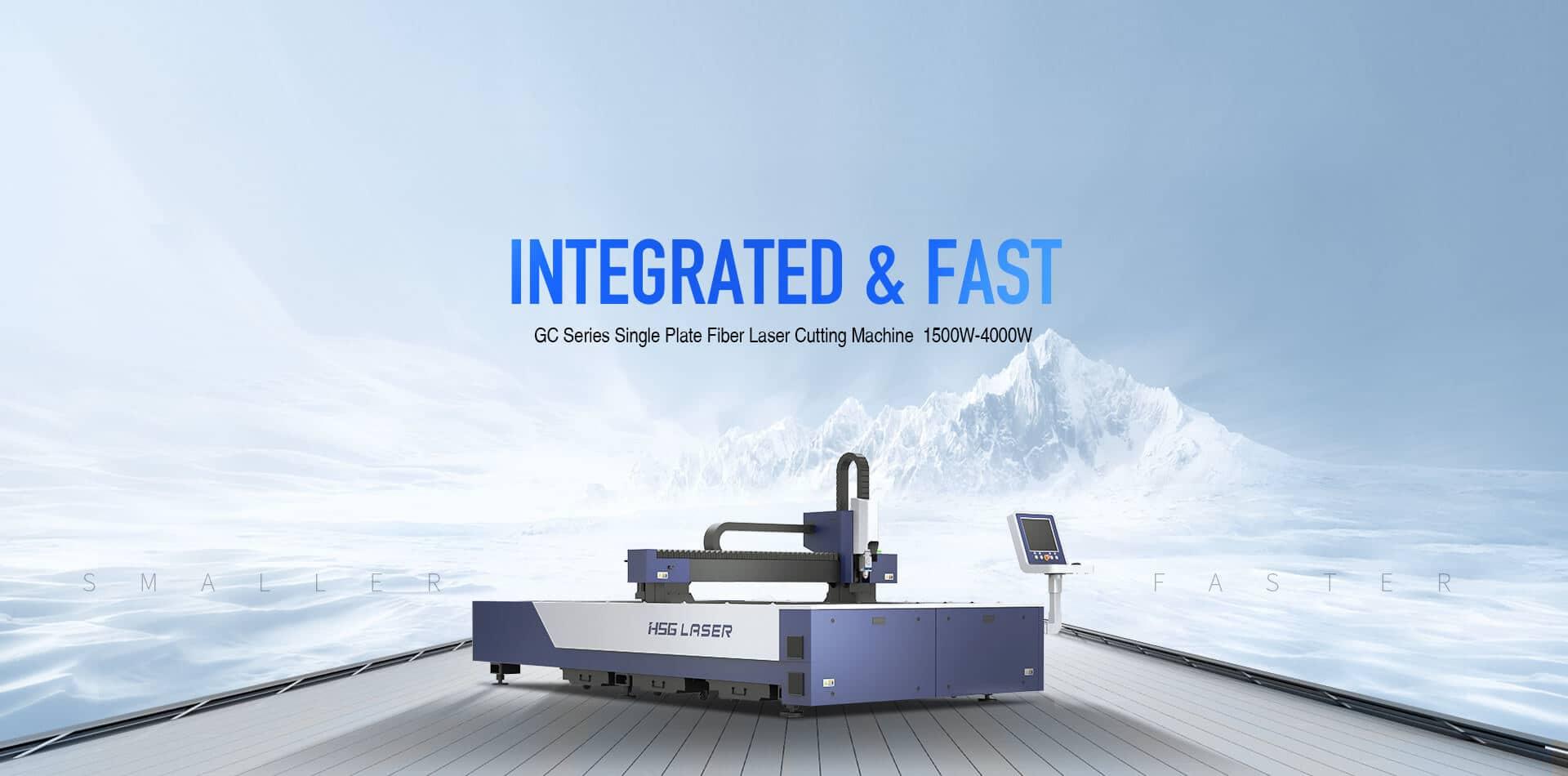 GC Series Single Platform Laser Cutting Machine