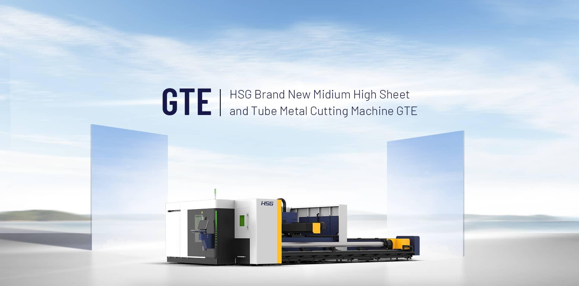 GTE Brand New Medium High Sheet & Tube Metal Cutting Machine