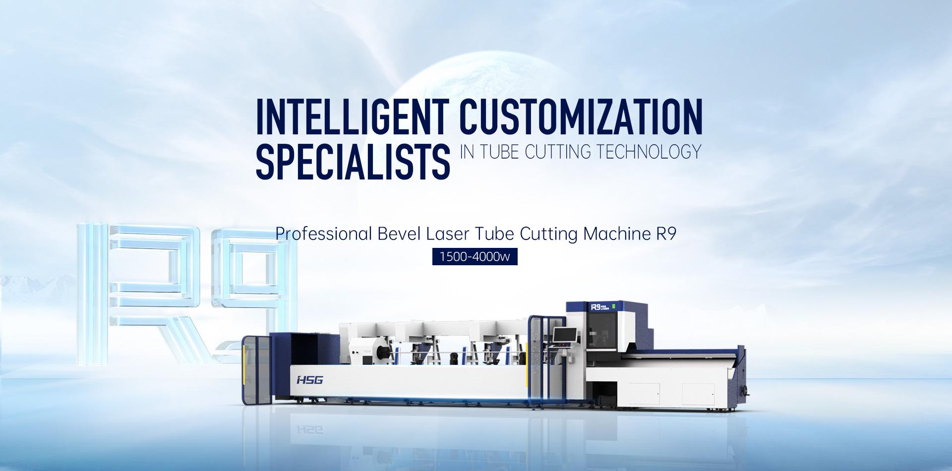 R9 Professional Bevel Laser Tube Cutting Machine