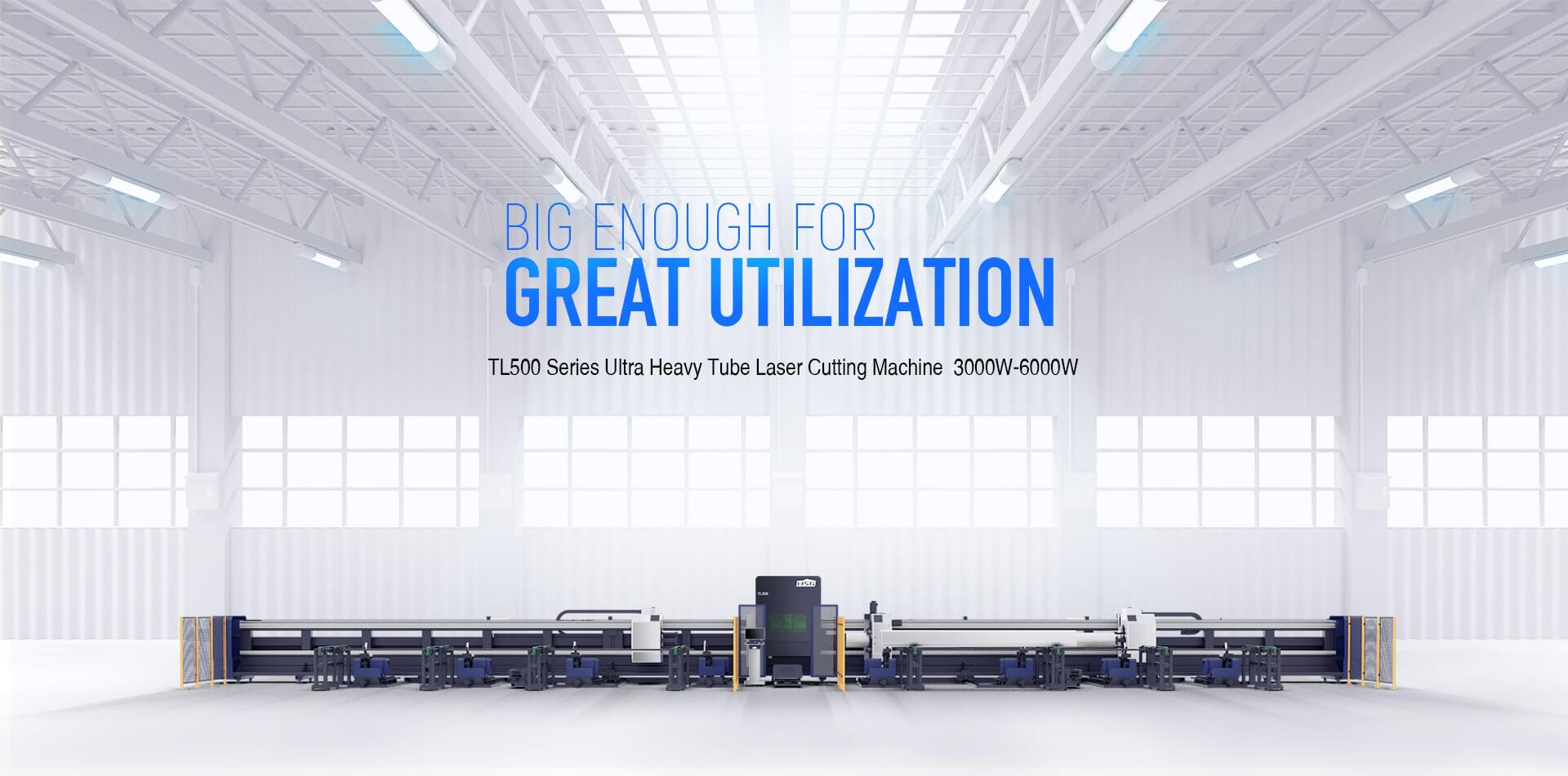 TL500 Series Ultra Heavy Tube Laser Cutting Machine