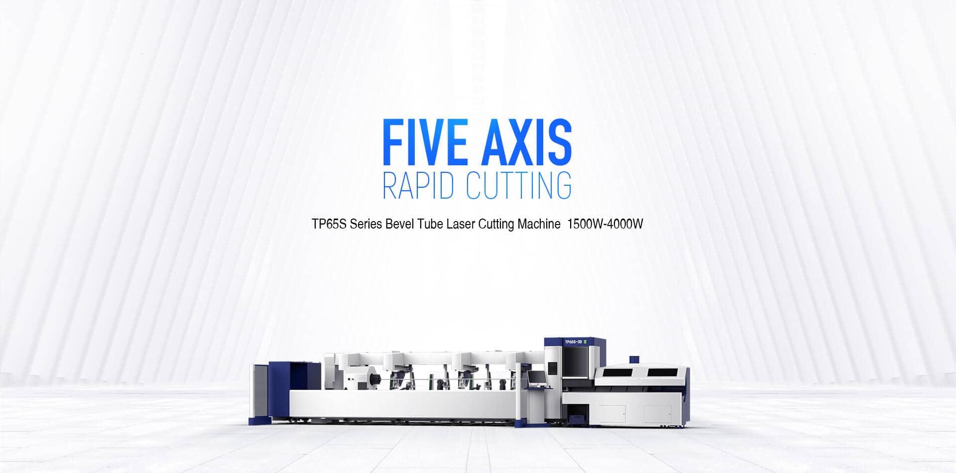 TP65S Series Groove Tube Laser Cutting Machine