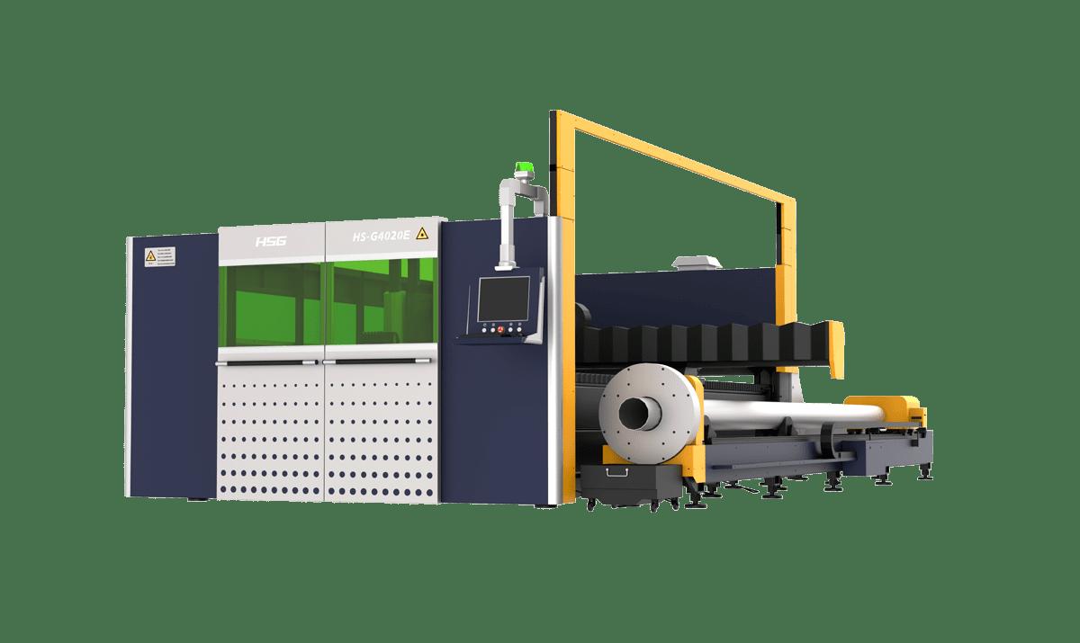GE Series Double Platforms Sheet & Tube Laser Cutting Machine