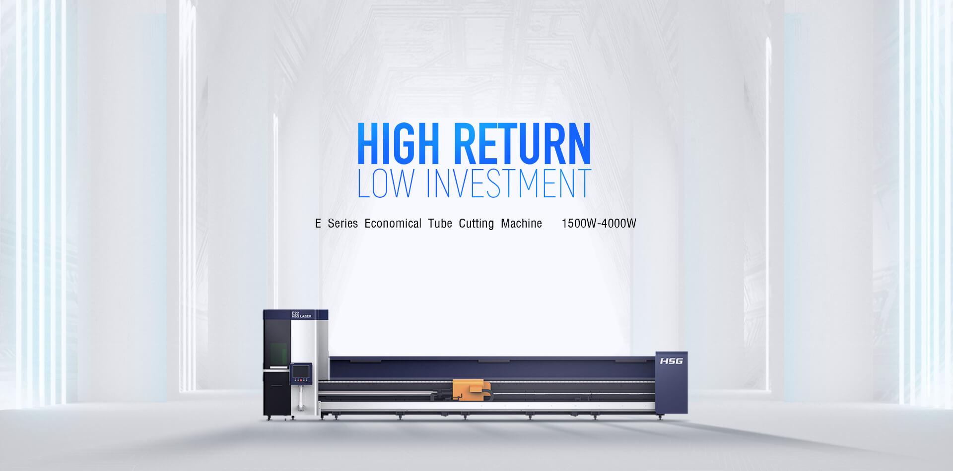 E Series Cost-Effective Tube Laser Cutting Machine