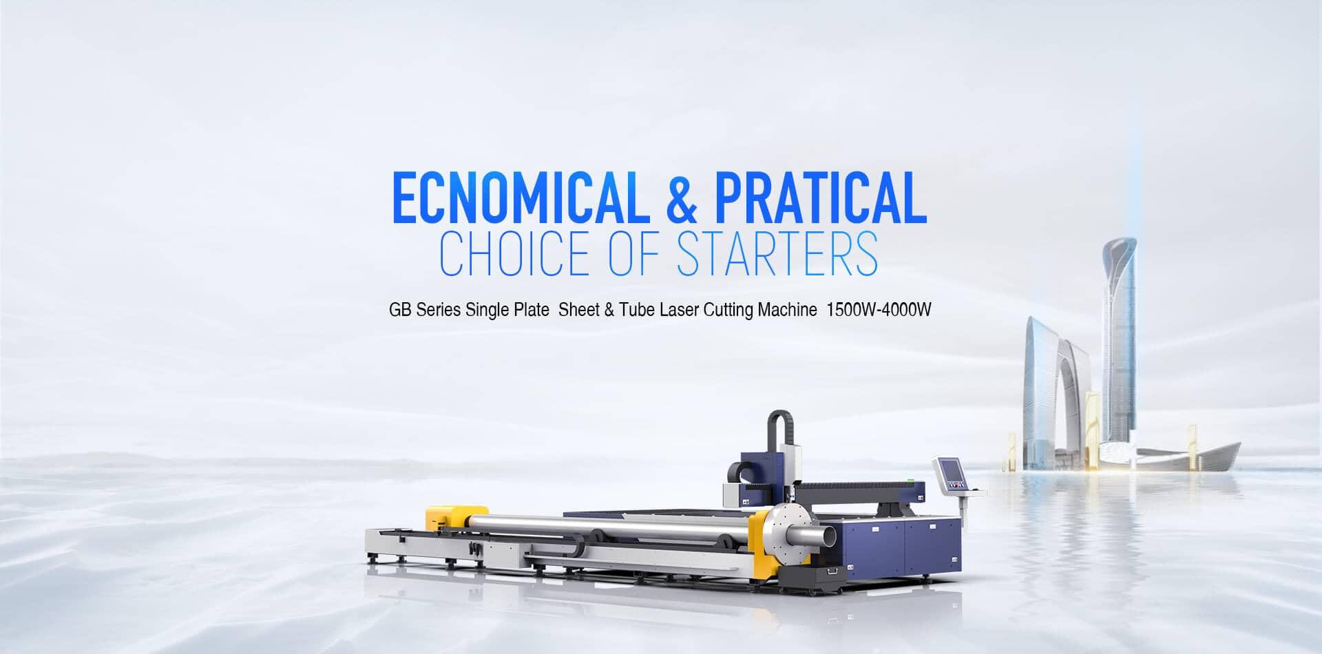 GB Series Single Platform Sheet & Tube Laser Cutting Machine