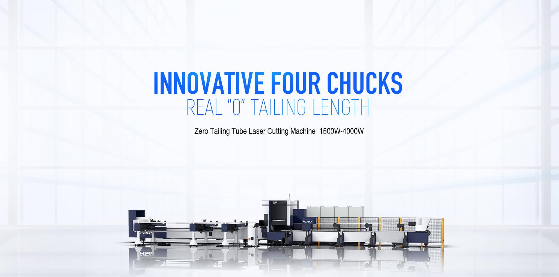 TH65Plus Series Zero Tailing Tube Laser Cutting Machine