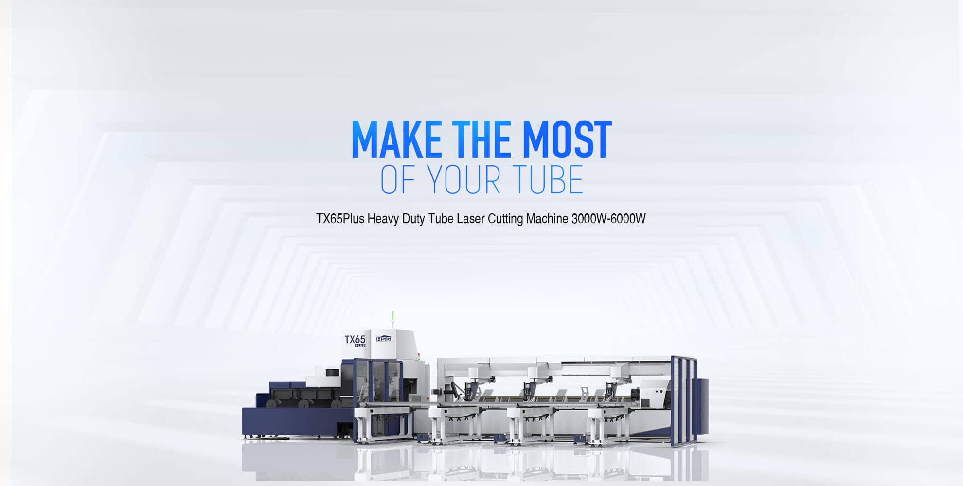 TX65Plus Series Heavy Duty Tube Laser Cutting Machine